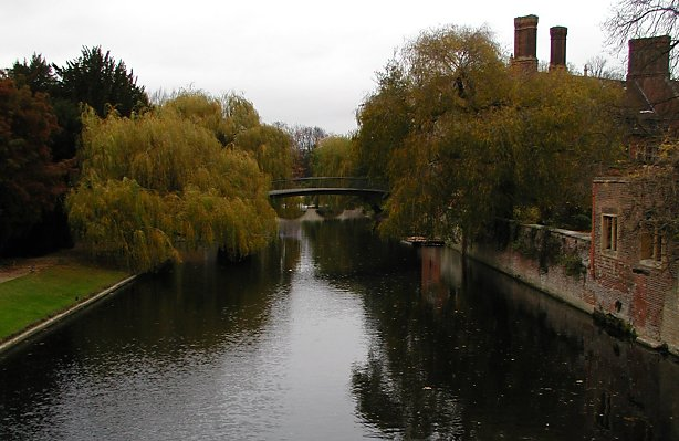 canal in the backs of Cambridge