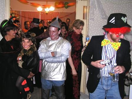 halloween party tin man