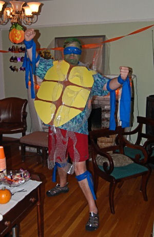 jim schrempp donatello ninja turtle costume halloween